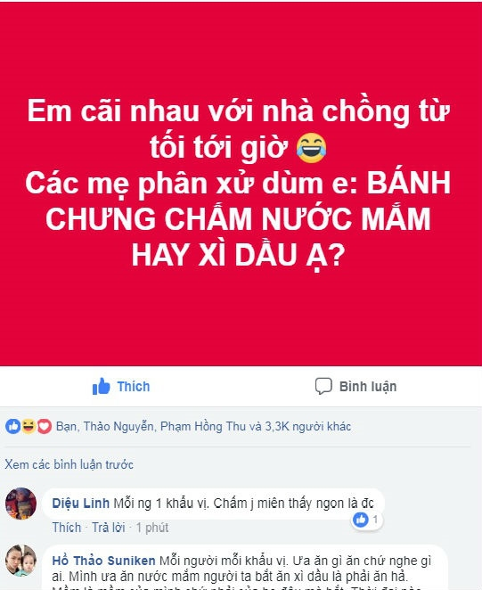29 tet nha chong toi cai nhau chuyen banh chung cham voi nuoc gi