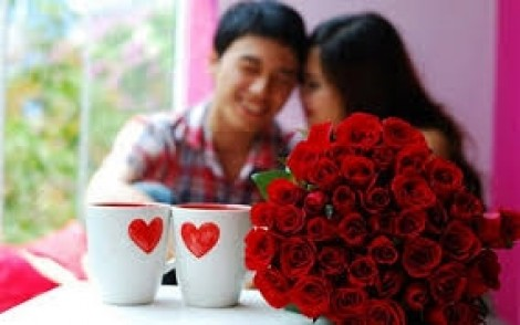 Valentine, tặng hoa thôi và đừng đòi hỏi gì anh nhé
