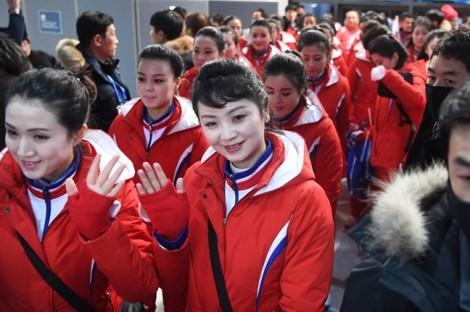 'Đội quân sắc đẹp' Triều Tiên và chiến lược tấn công quyến rũ Thế vận hội Mùa đông 2018