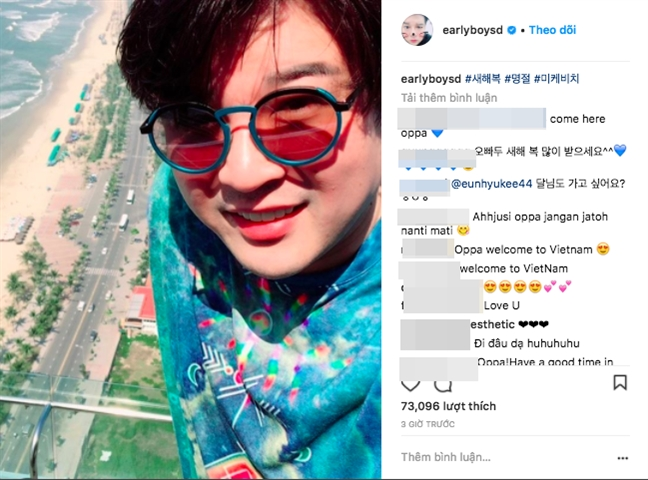 Thanh vien 'ngoai co' cua Super Junior khien bat ngo khi don tet o Viet Nam