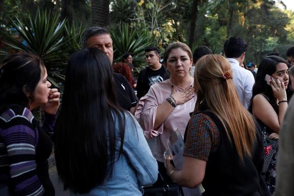 Mexico: Dong dat manh 7,2 do khong gay nhieu thiet hai