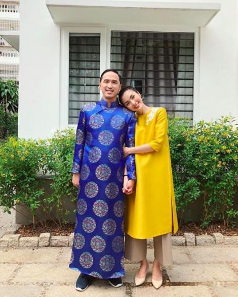 Sao Việt rực rỡ váy áo truyền thống, hiện đại ngày đầu năm mới