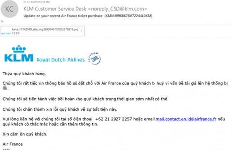 Khách hàng 'hụt hẫng' vì bị thu hồi vé máy bay Pháp siêu rẻ do lỗi hệ thống