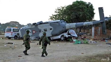 Mexico: Rơi máy bay chở bộ trưởng, 13 người chết