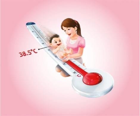 Đo nhiệt độ cho bé ở vị trí nào chính xác nhất?