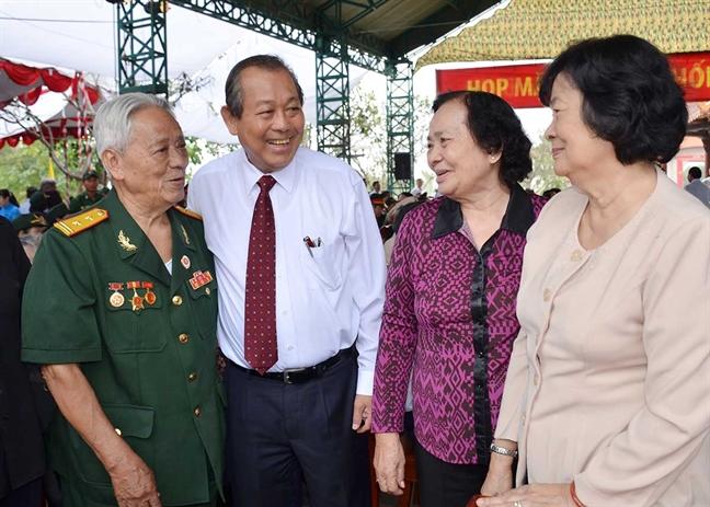 Hop mat Truyen thong Cach mang Sai Gon - Cho Lon - Gia Dinh