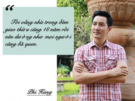 Ca sĩ Phi Hùng: 'Bố mẹ thường đỡ lời nếu ai hỏi tôi chuyện vợ con'
