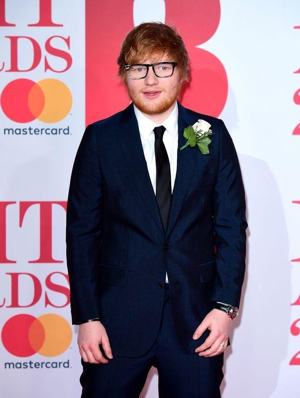 Ed Sheeran gianh giai Nghe si thanh cong toan cau tai 'Brits awards 2018'