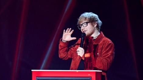 Ed Sheeran giành giải Nghệ sĩ thành công toàn cầu tại 'Brits awards 2018'