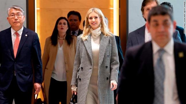 Ivanka Trump va em gai Kim Jong Un: Ai ghi diem tai Han Quoc?