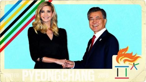Ivanka Trump và em gái Kim Jong Un: Ai ghi điểm tại Hàn Quốc?