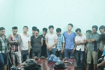 Bắt 16 người trong vụ hai băng giang hồ hỗn chiến gây náo loạn Biên Hòa đêm giao thừa