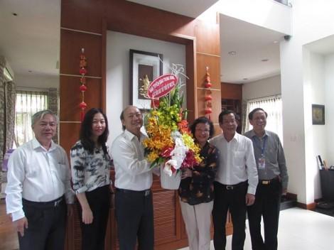 Lãnh đạo TP.HCM thăm, chúc mừng ngày Thầy thuốc Việt Nam
