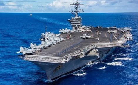 Tàu sân bay USS Carl Vinson của Mỹ sắp cập cảng Tiên Sa thăm Việt Nam