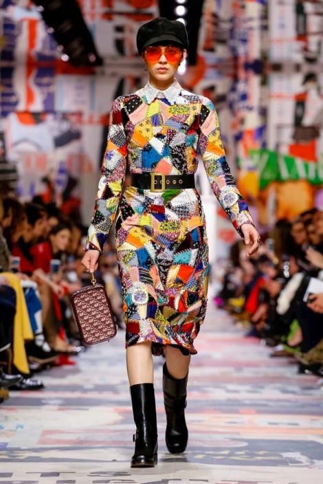 Thiết kế của nhà mốt hàng đầu thế giới Dior lấy cảm hứng từ mền vải vụn?