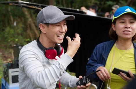 Kiều Minh Tuấn, Huy Khánh bị chôn sống ở phim trường