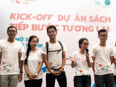 Dự án sách 'Tiếp bước tương lai': Để các em học sinh có động lực bước ra khỏi luỹ tre làng