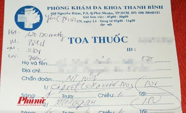 Vu kham tieu hoa ra tuyen tien liet: 'Bi tieu chay khong cho thuoc vi co the tu cam'