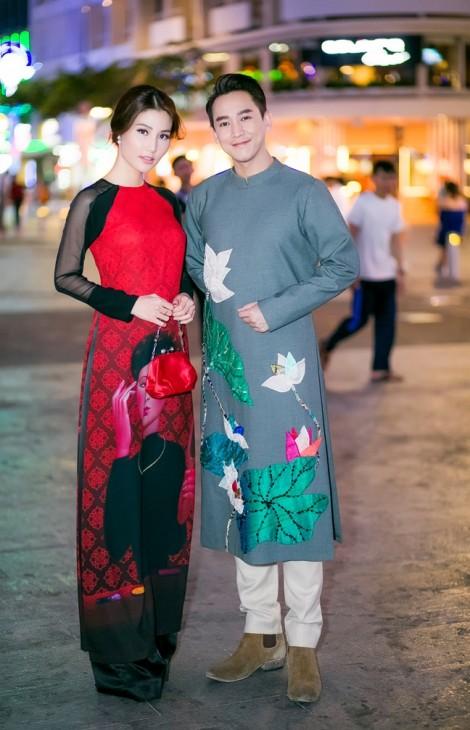 Diễm My 9X dịu dàng trong tà áo dài truyền thống