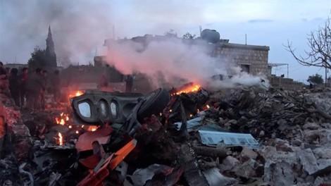 Máy bay Nga rơi tại Syria, hàng chục người thiệt mạng