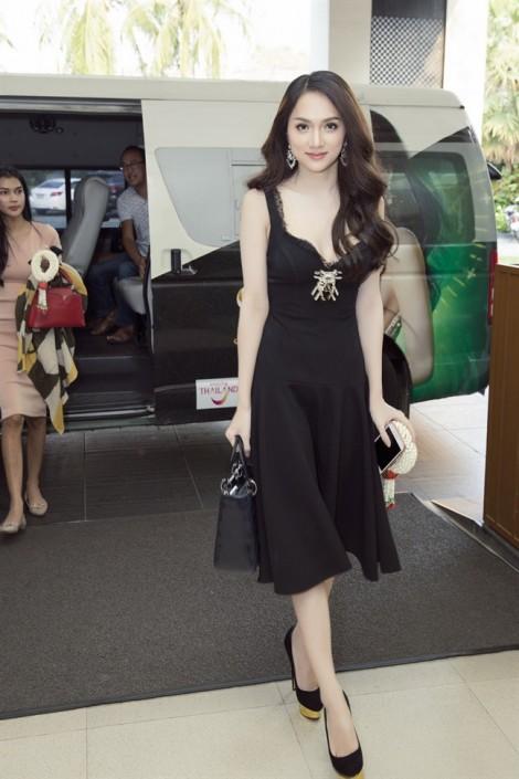 Gu thời trang bắt mắt của Hương Giang Idol tại 'Hoa hậu Chuyển giới Quốc tế'