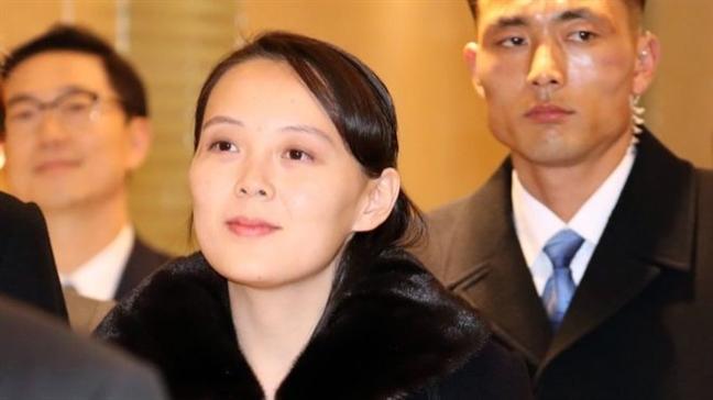Em gai Kim Jong Un se dam phan voi My?
