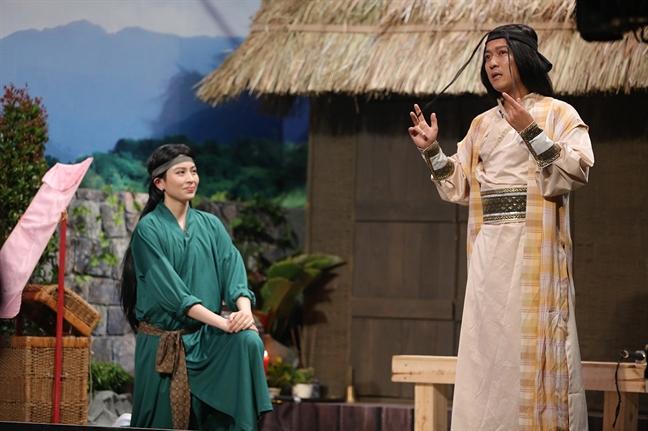 Xuan Lan va nhieu nghe si bi khoi chuyen tinh cam ca nhan tai 'On gioi, cau day roi!'