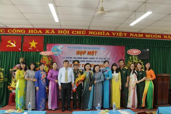 Huyen Cu Chi: Gap go nhan chung lich su xuan Mau Than 1968