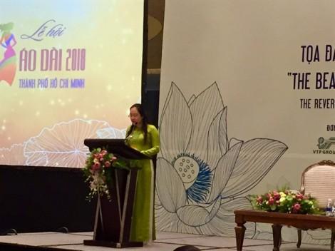 Lan tỏa nét đẹp áo dài Việt
