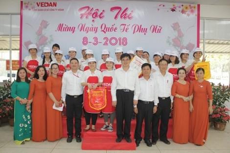 Nữ công nhân lao động Vedan Việt Nam thi tài dịp 8/3/2018