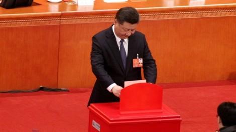 Quốc hội Trung Quốc thông qua sửa đổi Hiến pháp mang tính lịch sử