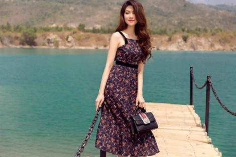 Siêu mẫu Thu Hằng gợi ý cách diện váy hoa ngày hè
