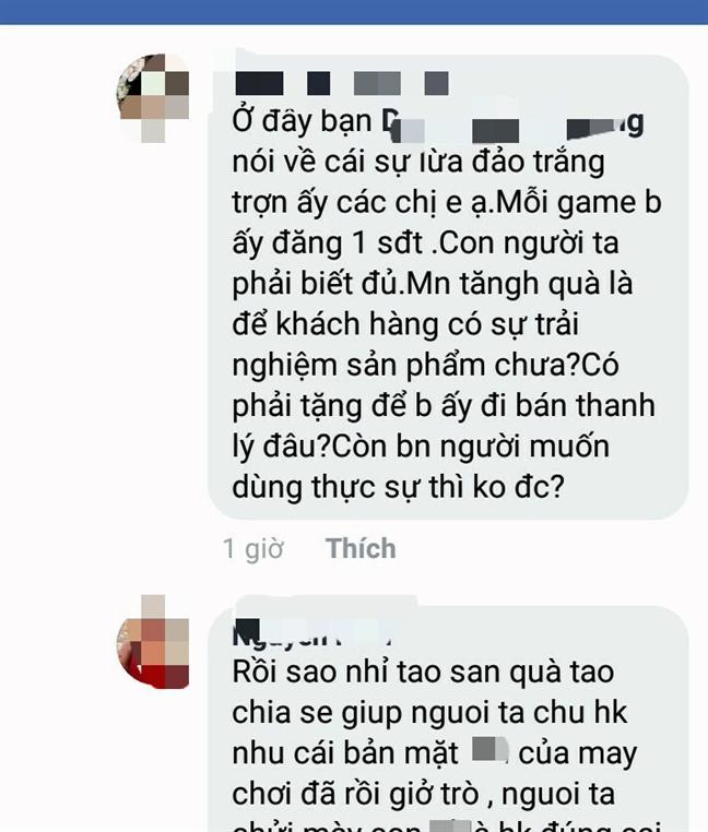 San game mini kiem tien trieu va nhung vu boc phot tren mang xa hoi