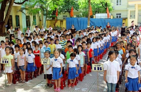 TP.HCM tăng khoảng 60.000 học sinh đầu cấp