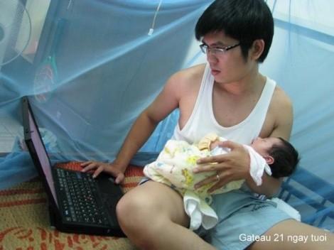 Với đàn ông, sự nghiệp làm cha cũng quan trọng như bao sự nghiệp khác