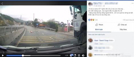 Cộng đồng mạng tranh cãi nãy lửa về cách làm mẹ trước cảnh em bé bò ngang cao tốc