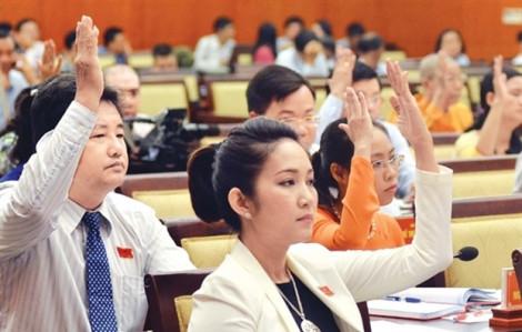 HĐND TP.HCM họp bất thường, xem xét sáu tờ trình và đề án