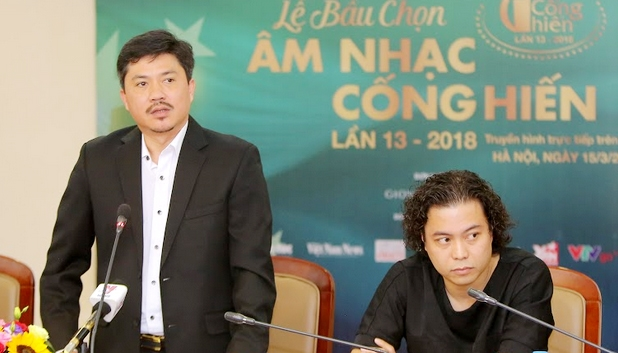 BTC le trao giai Cong hien 2018: 'Cung may co su co cau hon cua Truong Giang'