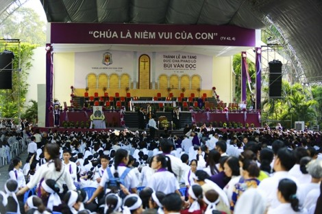 Đức Tổng Giám mục Phaolô Bùi Văn Đọc yên nghỉ tại nhà nguyện Tiểu Chủng viện Sài Gòn