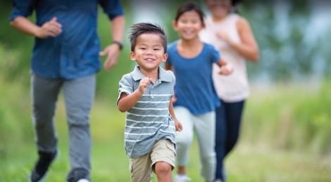 Giúp trẻ luôn khỏe mạnh và cân đối