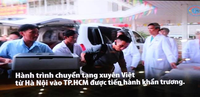 Giay phut kich tinh 'hoi sinh' qua tim tu Ha Noi vao ghep cho chang trai Tien Giang