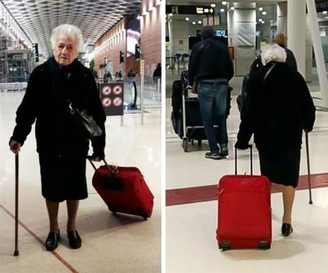 Cụ bà 93 tuổi chinh phục trái tim của hàng ngàn người bằng một hành động tuyệt đẹp