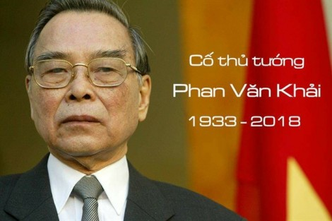 Quốc tang cố Thủ tướng Phan Văn Khải