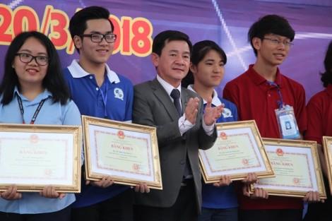 Học sinh TPHCM dẫn đầu cuộc thi khoa học cấp quốc gia