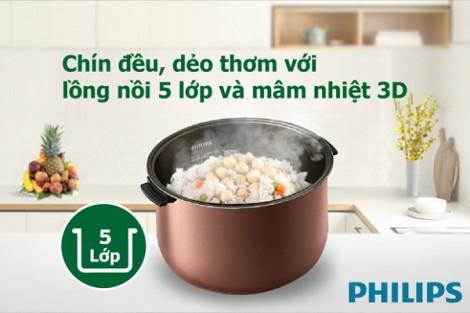 Chăm lo bữa ăn ngon khỏe, đã có Philips