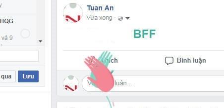 Nga ngua voi su that dang sau cu phap BFF tren Facebook