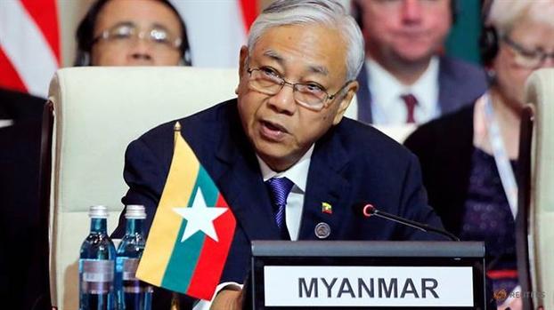 Tong thong Myanmar tu chuc 'de nghi ngoi'