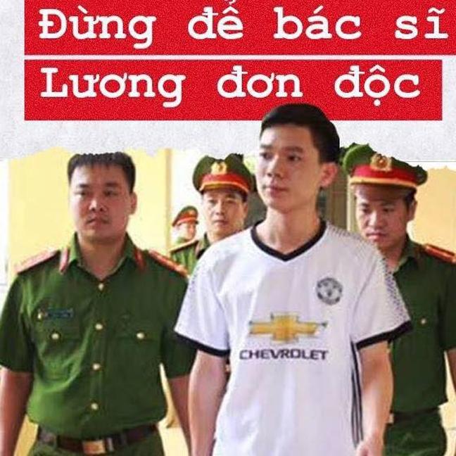 Gia dinh bac si Hoang Cong Luong hoang mang voi toi danh bi truy to