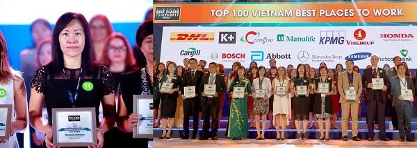 Manulife Viet Nam la noi lam viec tot nhat nganh bao hiem 2017
