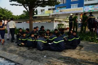 Những anh hùng liều mình giải cứu hàng trăm người trong vụ cháy chung cư Carina